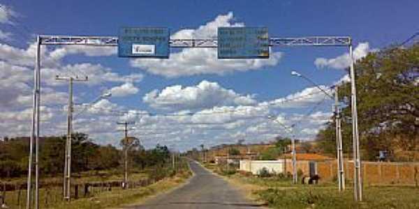 Canápolis-BA-Entrada da cidade-Foto:amarildo Varela