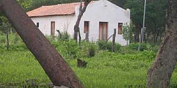 Canápolis-BA-Igreja no Povoado do Galheiro-Foto:oeste bahiano