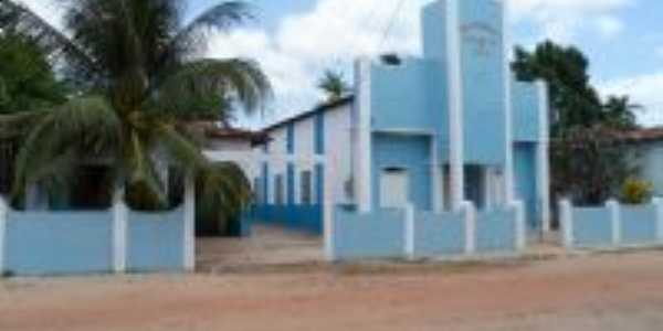 Templo Central das Assembleias de Deus, rua Cametá..., Por Eliel Aquino Ribeiro