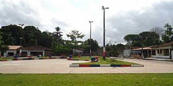 Vila Nova-PA-Praça central-Foto:PEDRO PAULO