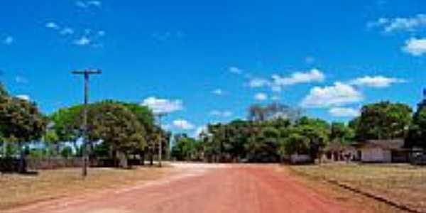 Rua Acapú em Vila Planalto-Foto:Heraldo Amoras