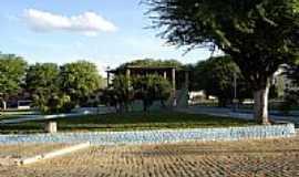 Canarana - Coreto na Praça central em Canarana-BA-Foto:Paulo Ney
