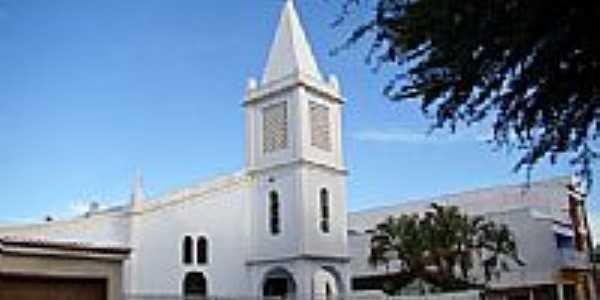 Matriz de N.Sra.do Patrocínio em Canarana-BA-Foto:Vicente A. Queiroz