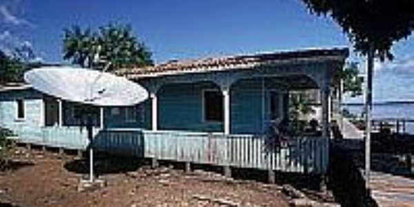 Casa ribeirinha-Foto:naturezabrasileira