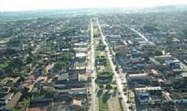 Xinguara - Vista aérea da Avenida central de Xinguara-Foto:leosk810