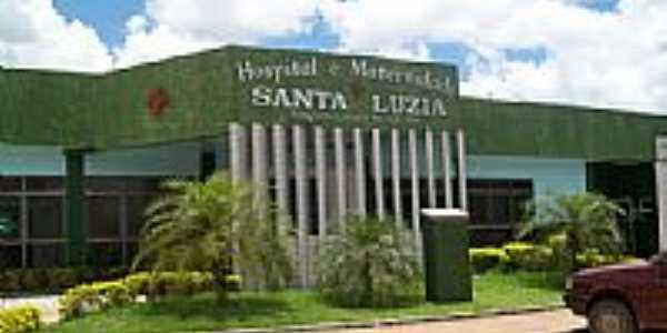 Hospital e Maternidade Santa Luzia em Xinguara-Foto:BENIVALDO PEREIRA BR…