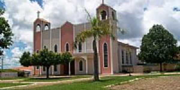 Matriz de São José Carpinteiro em Xinguara-Foto:BENIVALDO PEREIRA BR…