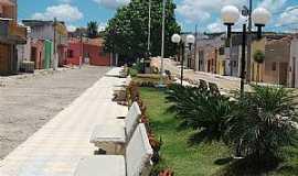 �gua Branca - �gua Branca-PB-Pracinha em frente a C�mara Municipal-Foto:Rodrigo Dantas