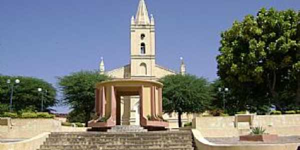 Aguiar-PB-Igreja Matriz-Foto:FRANCISCO MANOEL FILHO