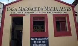 Alagoa Grande - Alagoa Grande-PB-Casa de Margarida Maria Alves-Foto:paladardobrejo.