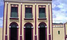 Alagoa Grande - Alagoa Grande-PB-Teatro Santa Ignêz-Foto:paladardobrejo.
