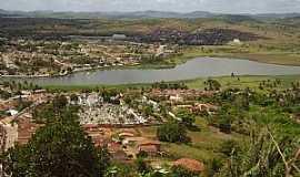 Alagoa Grande - Alagoa Grande-PB-Vista aérea da Lagoa e parcial da cidade-Foto:DODA DOS PRIMITIVOS