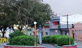 Alagoa Nova - Alagoa Nova-PB-Praça no centro-Foto:Paraíba Criativa