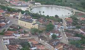 Alagoa Nova - Alagoa Nova-PB-Vista aérea do centro-Foto:Fraterno Filho