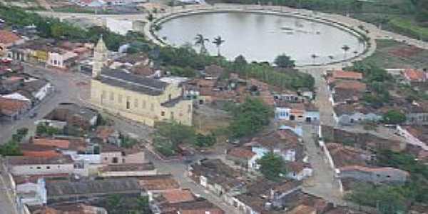 Alagoa Nova-PB-Vista aérea do centro-Foto:Fraterno Filho
