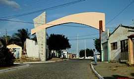 Alcantil - Alcantil-PB-Pórtico de entrada-Foto:paraibahoje.