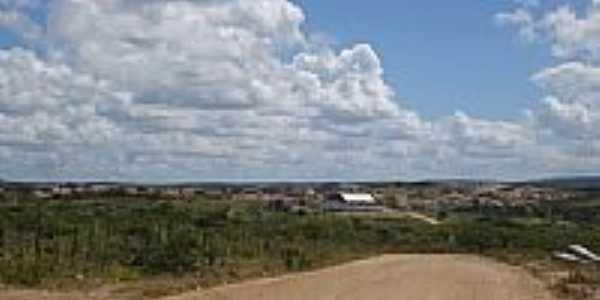 Vista da cidade de Algodão de Jandaíra-Foto:Daniela G. Gumiero