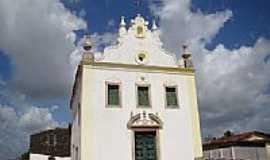 Alhandra - Matriz de N.Sra.da Assunção em Alhandra-PB-Foto:Vicente A. Queiroz