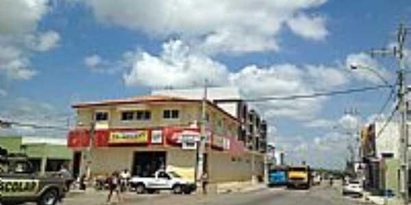 Aparecida-PB-Centro da cidade-Foto:José Vanderlei