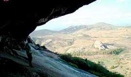 Araruna - Vista da Pedra da Boca - Araruna - PB
