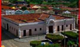 Araruna - Antigo mercado visto da torre da igreja, Por Mailton Targino da Silva