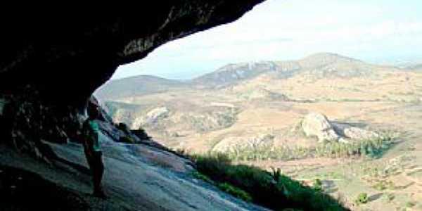 Vista da Pedra da Boca - Araruna - PB