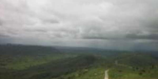 Alto da serra de Araruna vista do mirante!, Por Mailton Targino