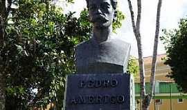 Areia - Areia-PB-Busto de Pedro Américo-Foto:George Maia