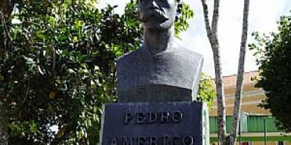Areia-PB-Busto de Pedro Am�rico-Foto:George Maia