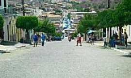 Aroeiras - Avenida em Aroeiras vista do alto-Foto:ivo leonio