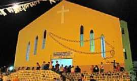 Aroeiras - Igreja em Aroeiras-Foto:ivo leonio