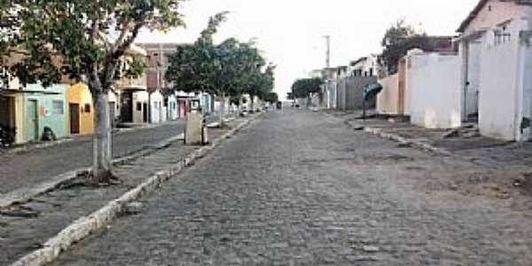 Aroeiras-PB-Avenida principal-Foto:Facebook