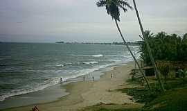 Ba�a da Trai��o - Ba�a da Trai��o-PB-Vista da praia-Foto:Igo Paulino