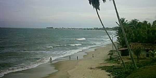 Ba�a da Trai��o-PB-Vista da praia-Foto:Igo Paulino