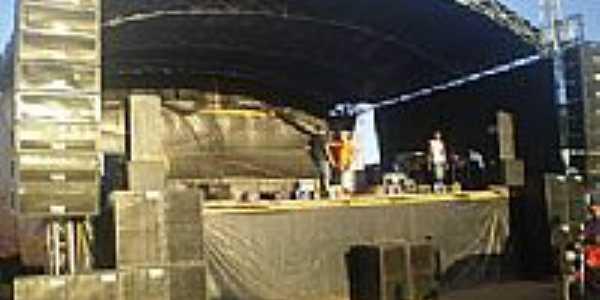 Palco de Eventos no Povoado de Canché-BA-Foto:sonorizacaojsom.