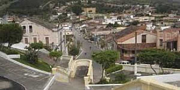Bananeiras-PB-Vista da área central da cidade-Foto:alagoinhaemfoco.blogspot.com