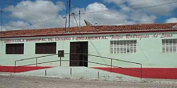 Baraúna-PB-Escola Municipal-Foto:jornaldebarauna.