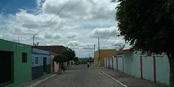 Baraúna-PB-Rua da cidade-Foto:jornaldebarauna.