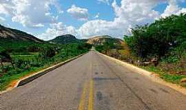 Belém do Brejo do Cruz - Estrada entre Patu e Belem do Brejo do Cruz por Wilson Alcaras