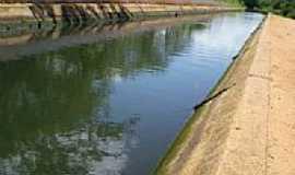 Bom Jesus - Canal da Lagoa de Arroz em Bom Jesus-Foto:thiago lucena arnaud