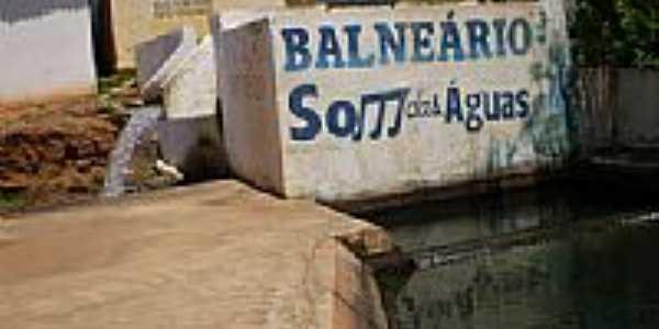 Balneário Som das Águas em Bom Jesus-Foto:thiago lucena arnaud