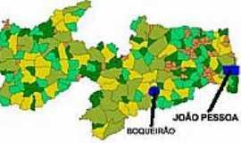 Boqueirão - Mapa de Localização - Boqueirão-PB