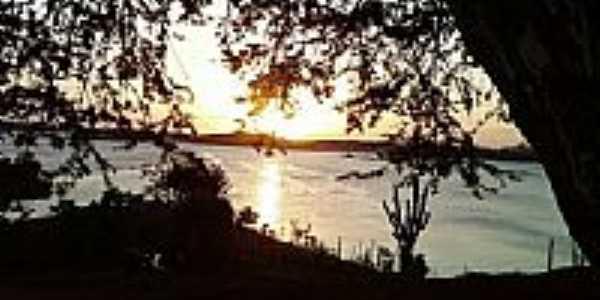 Pôr do Sol no Açude Boqueirão-PB-Foto:odiney ribeiro