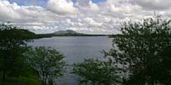 Vista do Açude Boqueirão-PB-Foto:Aderbal Nunes