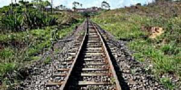 Linha Férrea em Candeias-BA-Foto:gilmardeoliveira