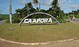 Caaporã - Caaporã-PB-Pórtico de entrada-Foto:portal25horas.