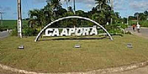 Caaporã-PB-Pórtico de entrada-Foto:portal25horas.