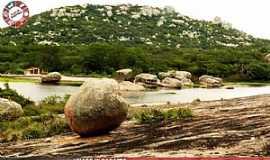 Cabaceiras - Vista do Lajedo de Pai Mateus - Cabaceiras - PB