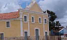 """Cabaceiras - Igreja que apareceu no filme """"O Alto da Compadecida"""" em Cabaceiras-Foto:Paulo H. Lima"""