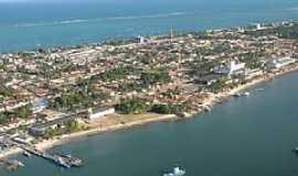 Cabedelo - Cabedelo-PB-Vista aérea da cidade e praias-Foto:www.blogdomagno.com.br